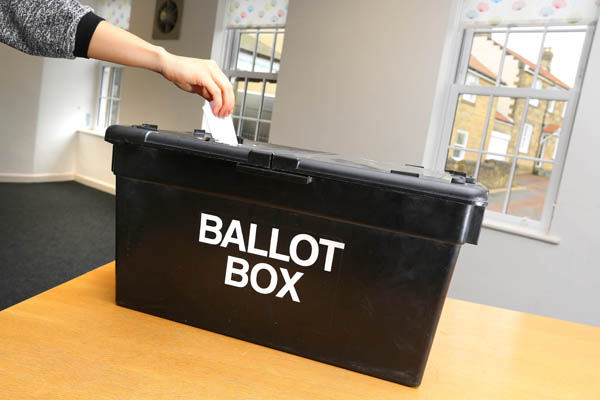 Image demonstrating Don't get caught out – make sure you're on the electoral register