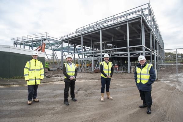 Image demonstrating New state-of-the art leisure centre takes shape in Berwick