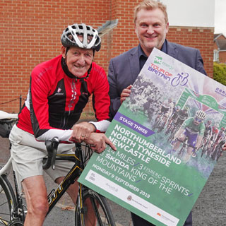 Image demonstrating Tour's return brings back special memories for cyclist Bill