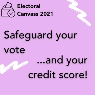 Don't get caught out – make sure you're on the electoral register