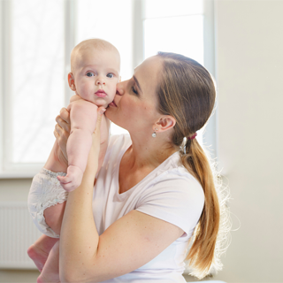 Image demonstrating Feel Good At Home campaign introduced for new mothers