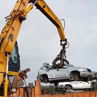 Vehicle Crushing