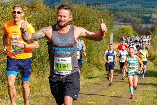 Image demonstrating Return of Kielder Marathon events offers autumn fitness target to the public