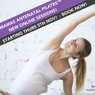 Image showing New online pilates class for mams-to-be
