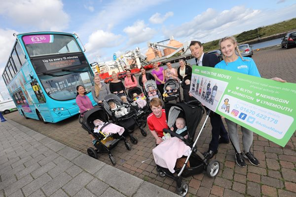 Image demonstrating Bus campaign promotes Mams on the Move