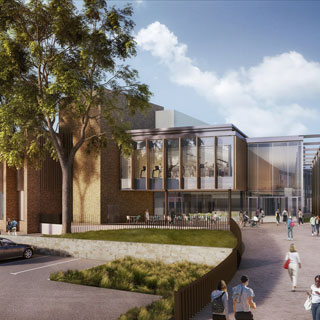 Image showing Plans approved for Morpeth's £21 million new leisure centre
