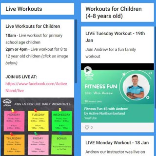 Image demonstrating New online resource provides leisure activities for young children and teens
