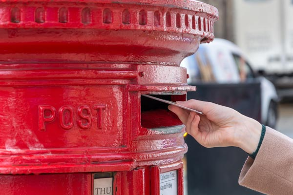 Image demonstrating Deadline looming to apply for postal vote