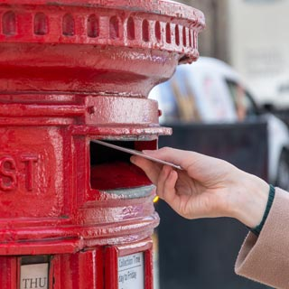 Image demonstrating Northumberland residents invited to vote by post at the May elections