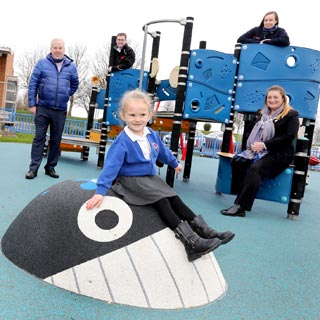 Image demonstrating Prudhoe Playpark reopens following refurbishment