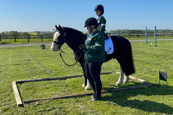 Image demonstrating Local RDA riders in the ribbons at national online finals