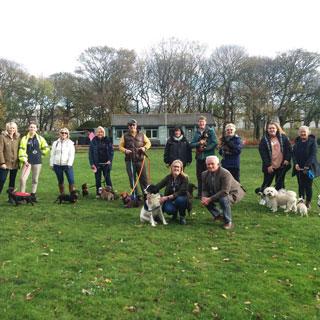 Dog walkers Ridley Park, Blyth
