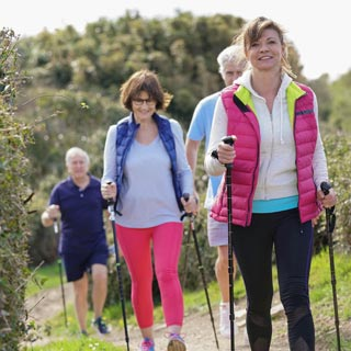 Image demonstrating Step into summer with free weekly health walks