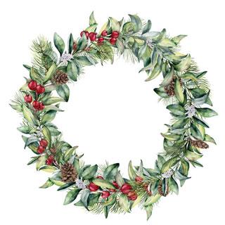 Wreath - stock image