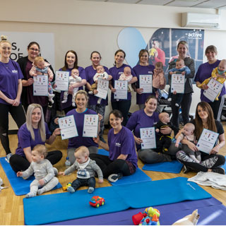 Image demonstrating Challenge successfully helps new mums get more active