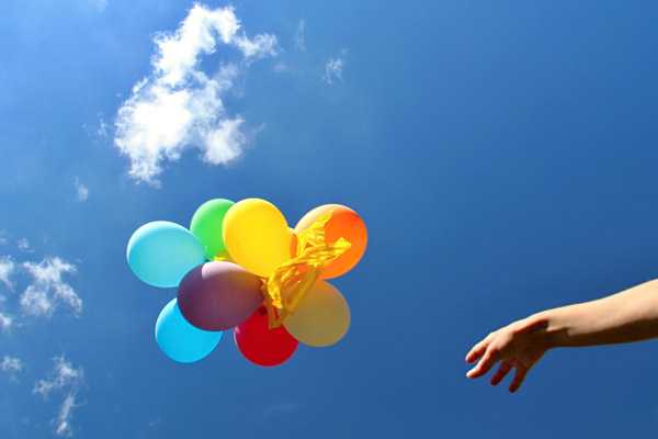 Image demonstrating Plea to avoid balloonreleases