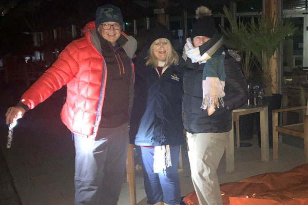 Council officers sleep out