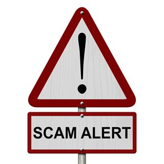 Image demonstrating Beware of Government grant scam emails