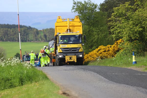 Image demonstrating Extra investment in county road repairs
