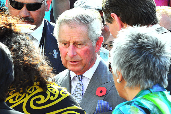 Image demonstrating Prince of Wales visiting Northumberland