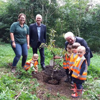 Image demonstrating Northumberland forest school has opened a nursery 'branch'