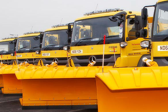 Image demonstrating Council teams ready to tackle winter weather