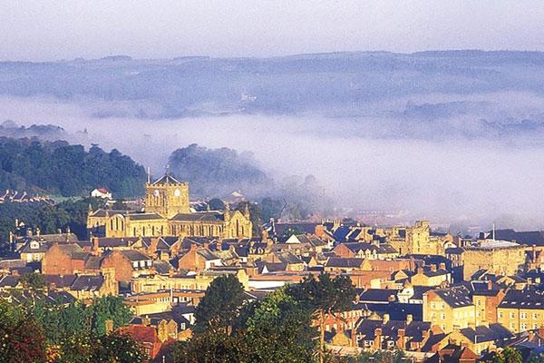 Panorama of Hexham