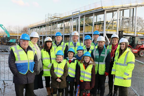 Image demonstrating Excellent progress on new first school for Morpeth