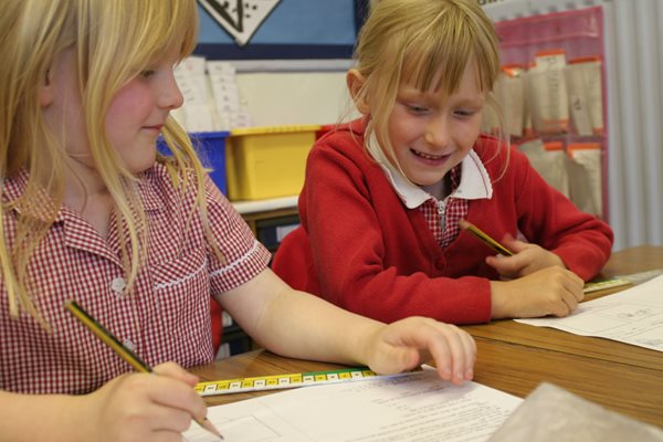 Image demonstrating 100% of Northumberland children get a top choice primary school