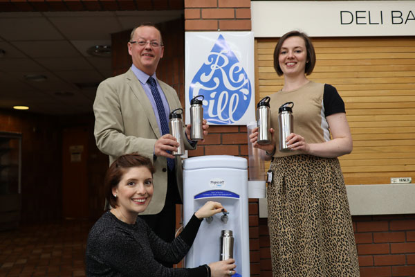 Image demonstrating Northumberland County Council pledges support for water Refill campaign