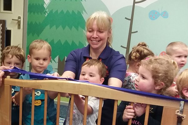 Image demonstrating New look and name for Alnwick Children's Centre's pre-school