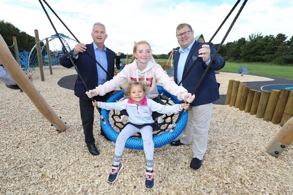 Image demonstrating New Druridge play area opens in time for Bank Holiday