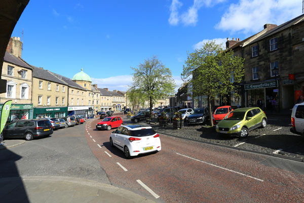 Image demonstrating Council continues parking improvements in Alnwick area