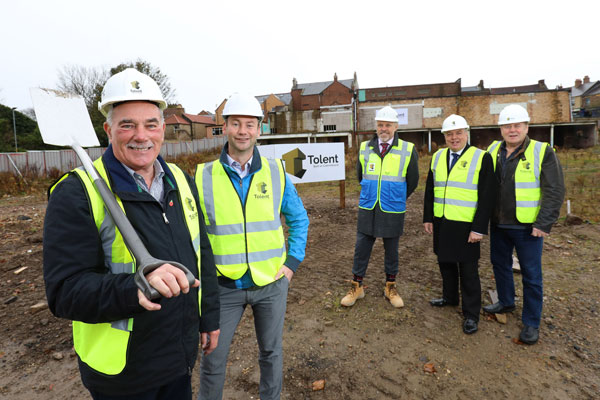 Image demonstrating Advance Northumberland starts on site with major town centre project