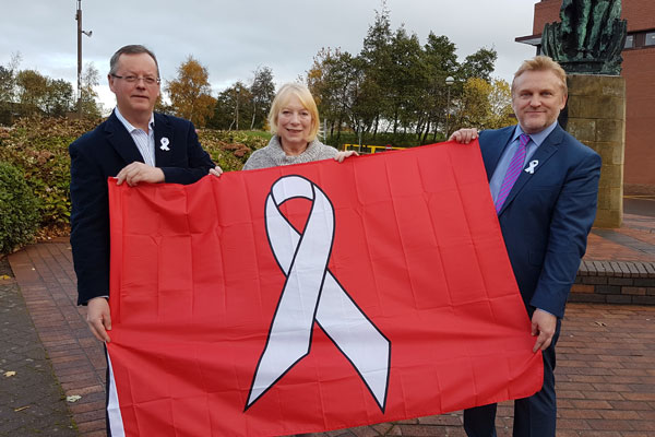 Image demonstrating Councils Team Up for Domestic Abuse Awareness Week