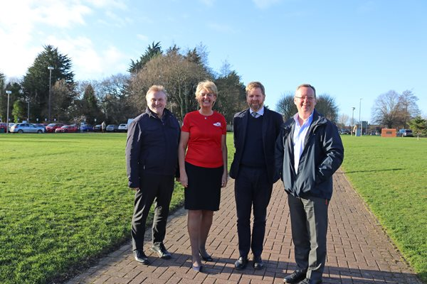 Image demonstrating Councillors get active to support mental health awareness