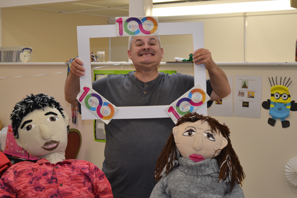 Image demonstrating Learning Disability Nursing centenary rocks