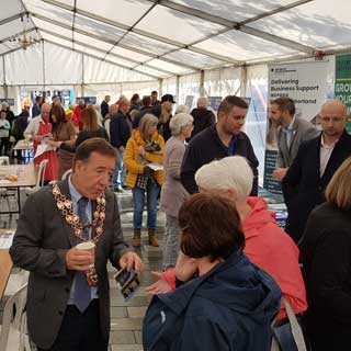 Image demonstrating Blyth drop-in event attracts thousands