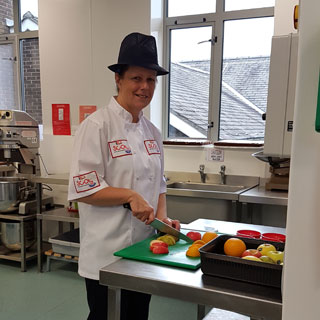 Image demonstrating Catering manager ran as School Chef of the Year