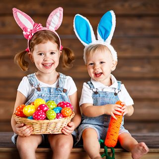 Image demonstrating Easter fun with Northumberland libraries