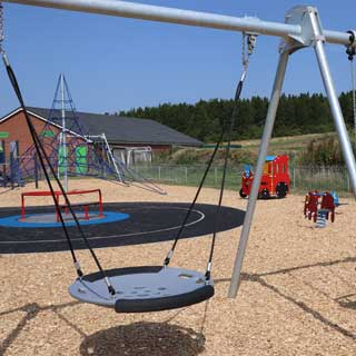 Image demonstrating New playpark unveiled in Bedlington