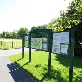 Image demonstrating Good progress on park restoration project