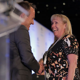 Image demonstrating Julie is a regional apprentice of the year!