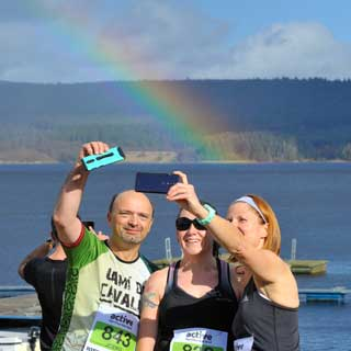 Image demonstrating Thousands complete the tenth year of Britain's most beautiful marathon