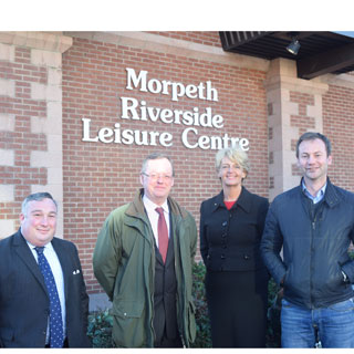 Image demonstrating Plans announced for new Morpeth leisure centre
