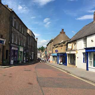 Image demonstrating Alnwick street trial starts in July