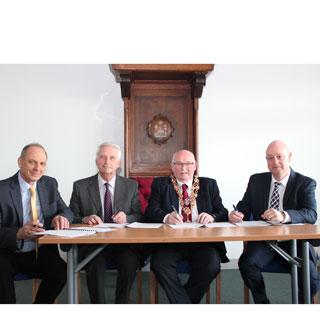 Image demonstrating Blyth renews partnership to go greener and cleaner
