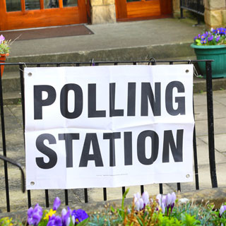 Image demonstrating Polling stations open for PCC election