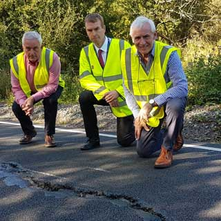 Image demonstrating Council moves to reassure residents over Rothbury road