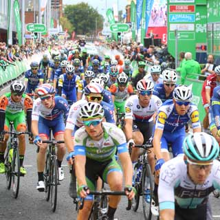 Image demonstrating First ever North of Tyne stage for OVO Energy Tour of Britain